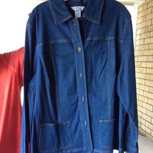 Koret City Blues Plus size Jacket/Pants 18W EUC
